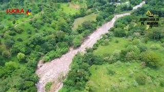 La grave afectación por avalancha en Santander