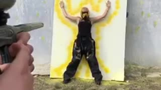 Perfect Outline with Paintballs