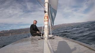 Light wind Sailing