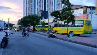 Paro de conductores | Buses en el Norte