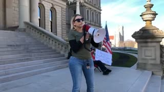 Day 6 Stop The Steal Michigan State Capitol Video 3