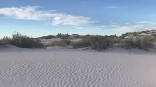 Visiting the White Sands National Park in New Mexico