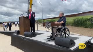 Trump Castigates Democrats In Visit To Unfinished Border Wall In Texas