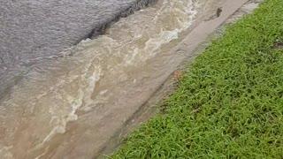 Massive Flooding Causes Sinkholes in Australian Suburb