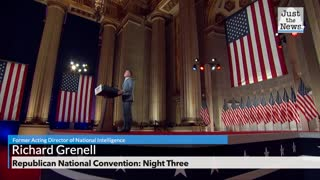 Former Acting Director of National Intelligence Richard Grenell speaks at RNC Night Three