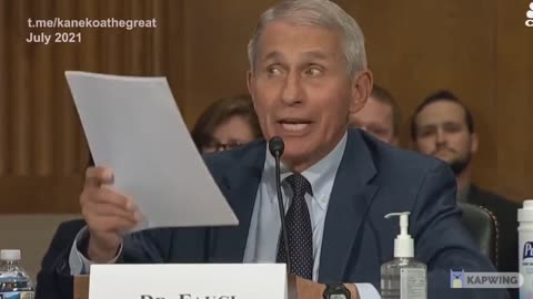 SUPERCUT: Fauci's Lies EXPOSED As He Makes Them