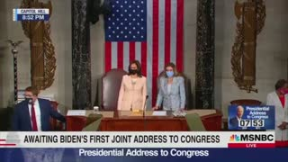 Brian Williams Weeps for Joe Biden