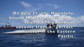 New Coast Guard cutter's drug busts