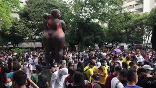 Marcha 1 de mayo en Bucaramanga