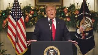President Trump on the Covid Flu Relief Bill