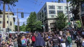 Antifa affiliates take over part of Seattle, deny police entry