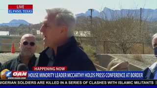 Kevin McCarthy Went to the Border and TORCHED Biden's Handling of the Migrant Crisis