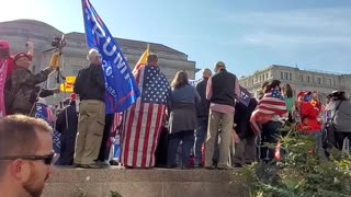 Patriots come out for the Million Maga March
