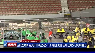 Ariz. audit passes 1.3 million ballots counted