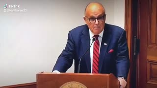 Rudy and the Rigged Election