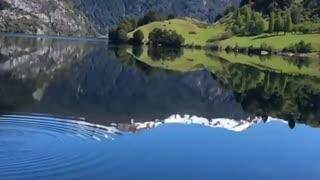 Beautiful Lake in Coyhaique, Chile