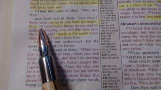 Jesus predicts future & truth will set you free - John 8:21-36 - NKJV