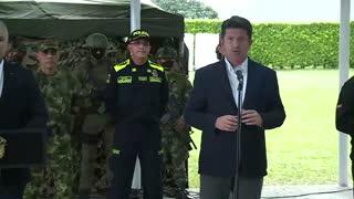 El ministro de Defensa se pronuncia tras captura de alias Otoniel