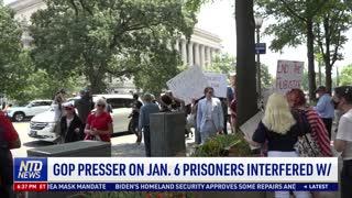 Republican Lawmakers Demand Answers on Jan. 6 Prisoners