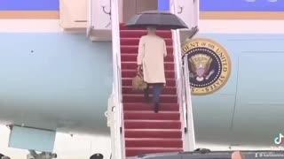 Joe Biden & Stairs...so close