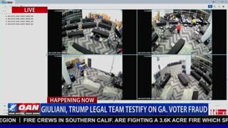 WATCH: Surveillance Video of Illegal Georgia Ballot Counting