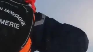 Dramatic Helicopter Rescue in France