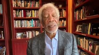 Morgan Freeman Drops PSA For Getting COVID Vaccine