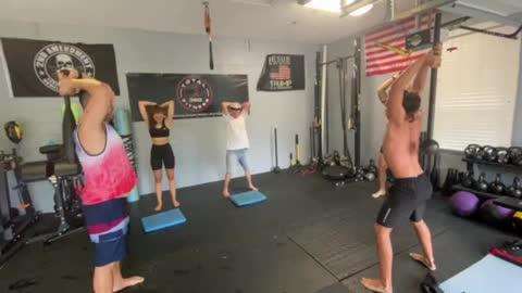 Exercise Technique #16 Mace: Triceps Extension