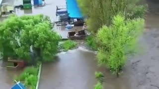 Flooding in China 2 Dams