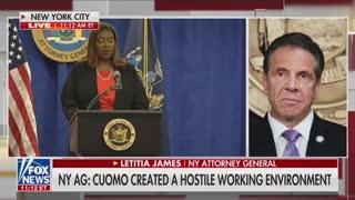 AG James: Gov. Cuomo harassed multiple women