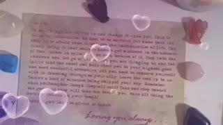 Message from spirit