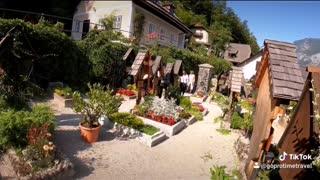 Halltatt Austria Cemetery 2020 Austria