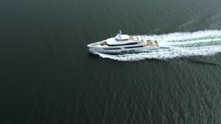 Lürssen Yachts - Project 13800 during her sea trials