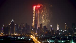 Khalifa Tower fireworks