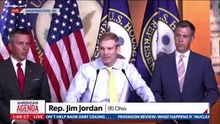 Rep Jim Jordan BLASTS Speaker Pelosi Over January 6th Commission