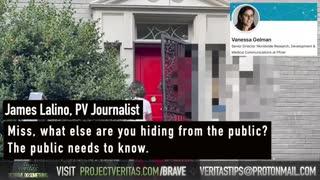 BREAKING Pfizer Senior Director of Worldwide Research Vanessa Gelman RUNS from Veritas' Questions