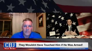 White Man Punched by Black Man working his Landscape Business...