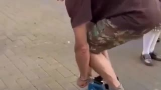 World Smallest Bicycle Riding