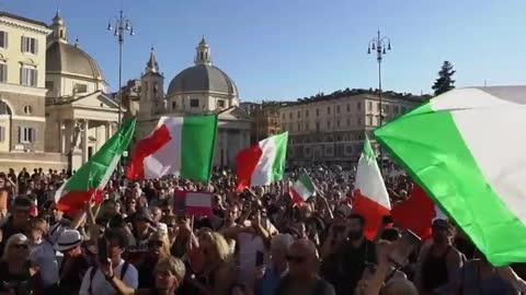 Roma, 7 agosto 2021: la piazza è del popolo!