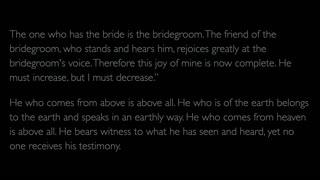 The Gospel of John - Chapter 3