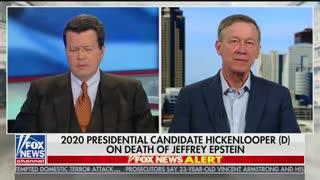 Hickenlooper discusses Epstein death on 'Cavuto Live'