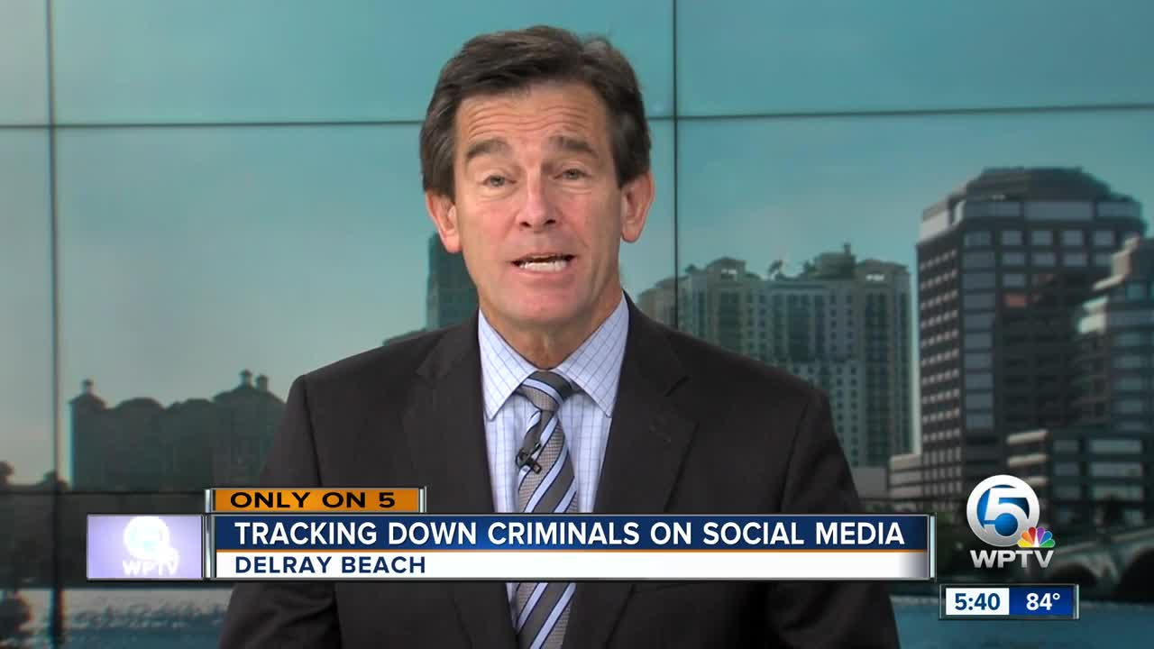 Delray Beach Police use social media to help find criminal suspects