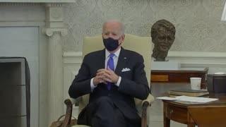 Biden Bashes Texas: Neanderthal Thinking on Masks