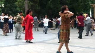 dancing of xinjiang