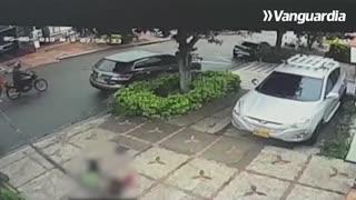 En video quedó registrado atentado cometido por sicarios en Bucaramanga