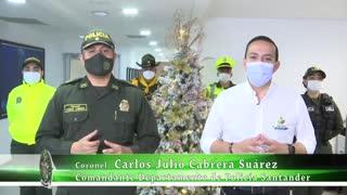 La Policía de Santander puso en marcha el 'Plan Navidad'