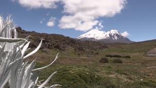 Cambio climático amenaza glaciares de Ecuador
