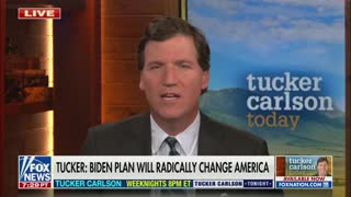 Tucker Carlson On Joe Biden's Infrastrucure Bill