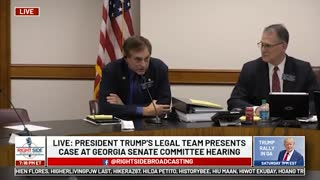 Closing Statement #5, GA Senate Committee Hearing on Allegations of Election Fraud. 12/03/20.