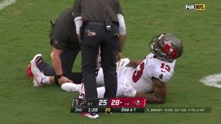 Mike Evans Injury vs. Falcons | NFL Week 2